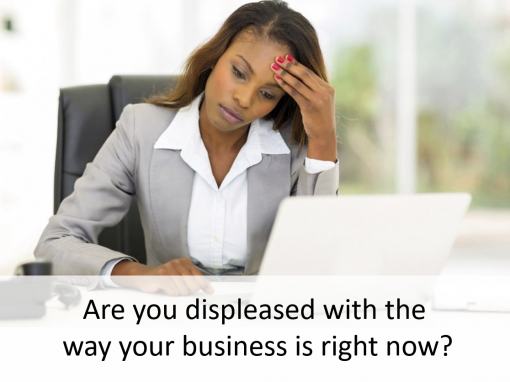 Are you frustrated with where your at in your business?